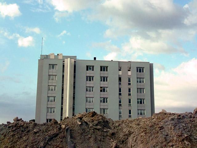 "Borga Kantürk, ""The Sick and the Building"", 2012"