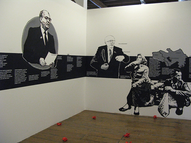 Chto Delat, Perestroika, Graphic and Video Installation, 11th International Istanbul Biennial, 2009.
