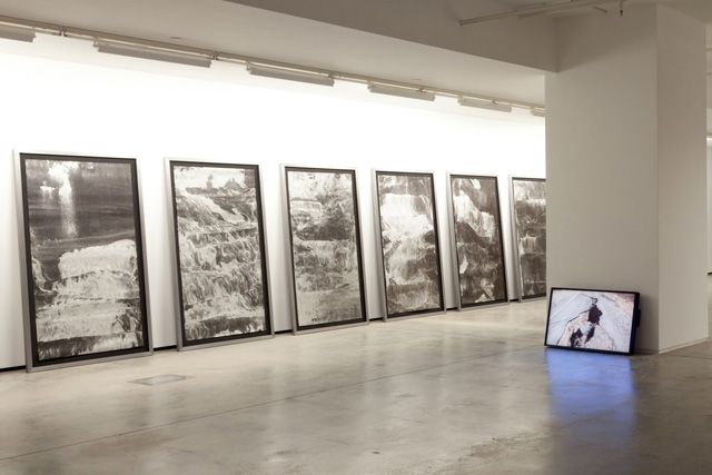Vahap Avşar, Black Album, 2013. Installation view.