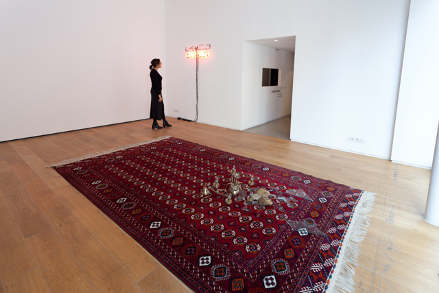 Vahap Avşar, Final Warning, 1993 / 2013. Installation view.