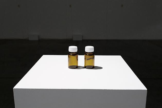 Charbel-joseph H. Boutros, Separated tears, 2014, Phial, artist's tears. Courtesy the artist and Grey Noise, Dubai.