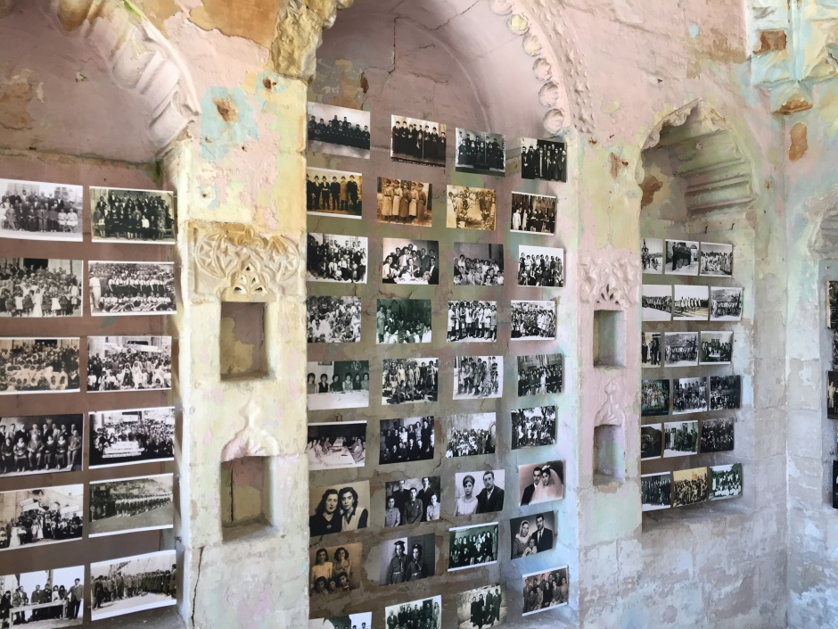 Sait Tunç, photo-archive, installation at Atamyan Mansion. Photo by Özge Ersoy.