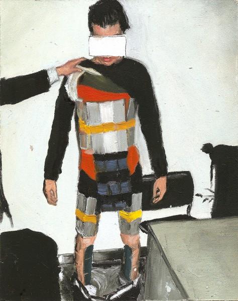Zeynep Beler, iPhone smuggler, 2015.