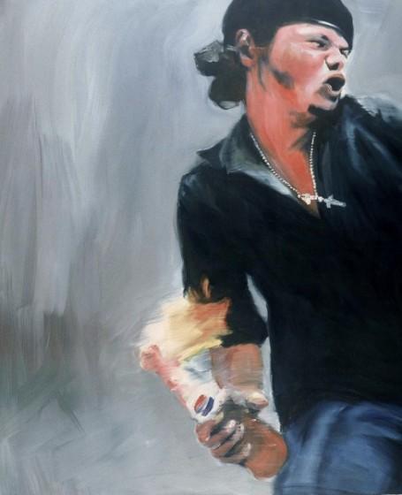 Joy Garnett , Molotov, 2003.