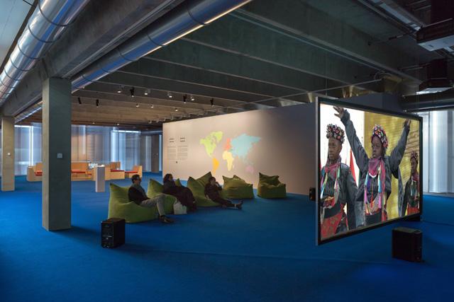 Köken Ergun, Young Turks installation view Garage Museum of Contemporary Art, Moscow, 2016. Photo by Olga Alexeyenko.