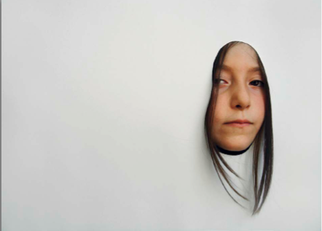 İnci Eviner, Framed Childhood 1, 2006. Digital print, 50 x 67 cm.